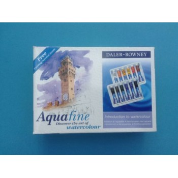 Daler Rowney Aquafine Introduction to Watercolour 12 Tube Set