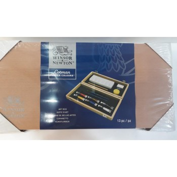 Winsor & Newton Cotman Watercolor Art Box (13pcs)