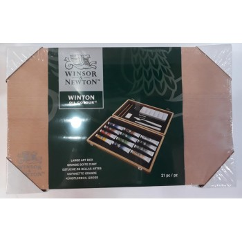 Winsor & Newton Winston Oil Colour Art Box (15pcs)