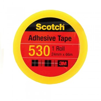 "3M Scotch 530 Tape 24mmx66m(3"" core)"