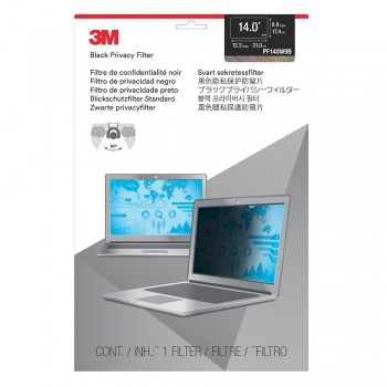 "3M PF140W9B Privacy Filter For 14"" Widescreen Laptop (98044054256)"