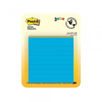 "3M 6301 Post-It 3""x3"" Lined Note Jaipur 50s"