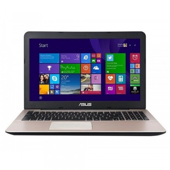 "Asus A556U-QDM1015T Laptop Dark Brown/15.6""/I5-7200U/4G[ON BD]/1TB(54R)/2VG/W10/Backpack"