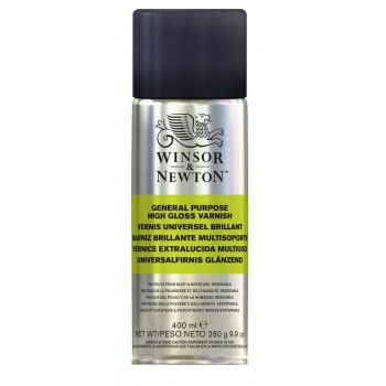 WINSOR & NEWTON GENERAL PURPOSE HIGH GLOSS VARNISH (400ML)