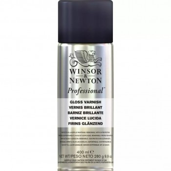 WINSOR & NEWTON  PROFESSIONAL GLOSS VARNISH (400ML)