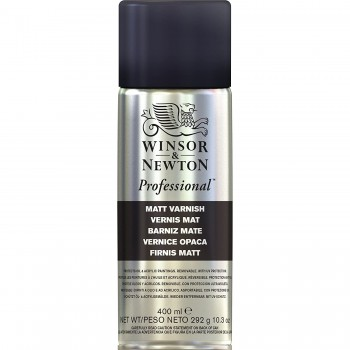 WINSOR & NEWTON  PROFESSIONAL MATT VARNISH (400ML)
