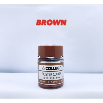 COLLEEN POSTER COLOR 20ML-04 BROWN
