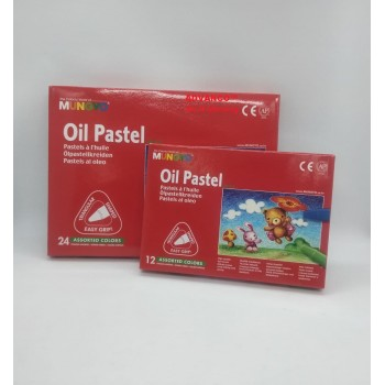 MUNGYO OIL PASTEL (AVAILABLE IN 12COL | 24COL) READY STOCK