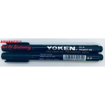 YOKEN TECHNICAL DRAWING PEN  0.2