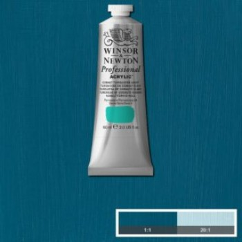 W&N ARTIST ACRYLIC COL 60ML S5-190 COBALT TURQUOISE