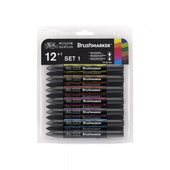 BRUSHMARKER VIBRANT SET OF 12