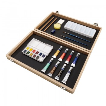 COTMAN WATER COLOUR LARGE ART BOX