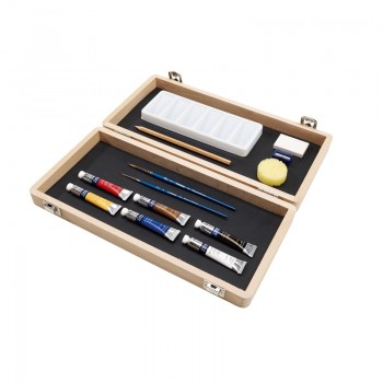 COTMAN WATER COLOUR SMALL ART BOX
