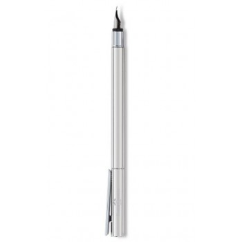 FABER CASTELL 342003 FOUNTAIN PEN  (B) NEO SLIM STAINLESS STEEL SHINY