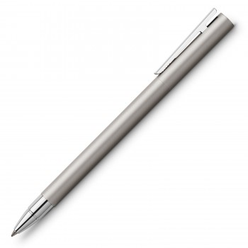 FABER CASTELL 342105 GEL PEN  NEO SLIM STAINLESS STEEL MATT