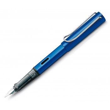 LAMY 028B AL-STAR OCEANBLUE FOUNTAIN PEN WITH B NIB