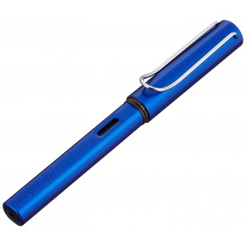 LAMY 028F AL-STAR OCEANBLUE FOUNTAIN PEN WITH F NIB