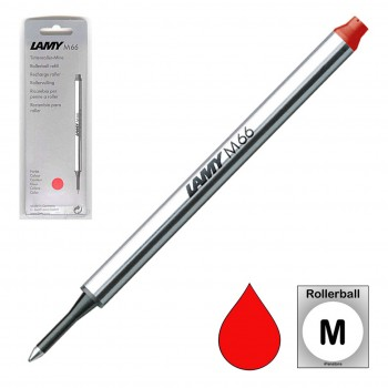 LAMY M66 RED ROLLERBALL REFILL