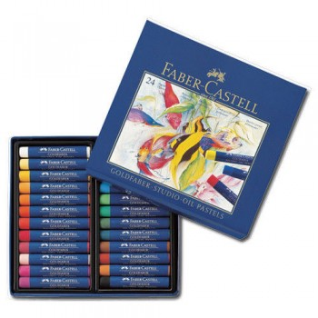FABER CASTELL  127024 OIL PASTEL STUDIO QUALITY SET OF 24 COLOR