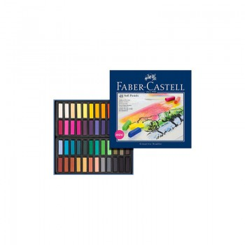 FABER CASTELL 128248 MINI SOFT PASTELS BOX OF SET OF 48 COLOR