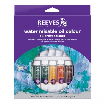 REEVES WATER COLOUR 18COL 10ML 8490251