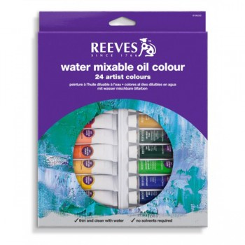 REEVES WATER COLOUR 24 COL. 10ML