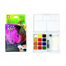 SAKURA KOI WATER COLOR CREATIVE ART SET 12 COLOUR