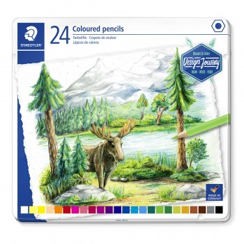 STAEDTLER COLOURED PENCIL 24 COLOUR