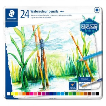STAEDTLER COLOURED PENCIL AQUA 24 COLOUR