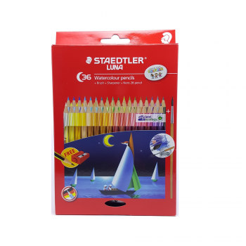 STAEDTLER WATER COLOR PENCIL LUNA SET 36 COLOUR