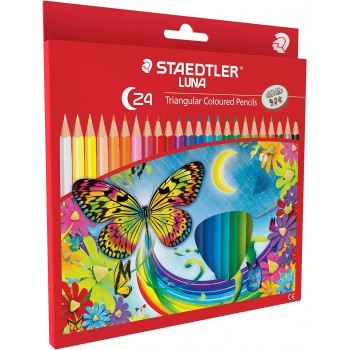 STAEDTLER LUNA TRIANGULAR COLOR PENCIL 24 COLOR