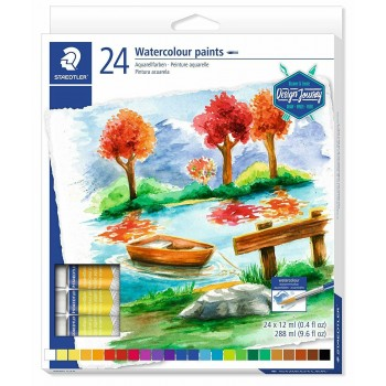 STAEDTLER WATER COLOUR PAINT 24 COLOUR