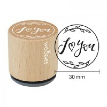 STAMPS I LOVE (HEART)YOU (WE4009)