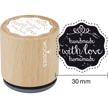 STAMPS HANDMADE WITH LOVE HOMEMADE (WE5006)