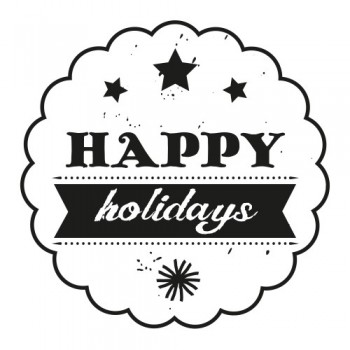 STAMPS HAPPY HOLIDAYS(WE7006)