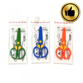 "4.5"" Plastic Kids Scissors (Best)"