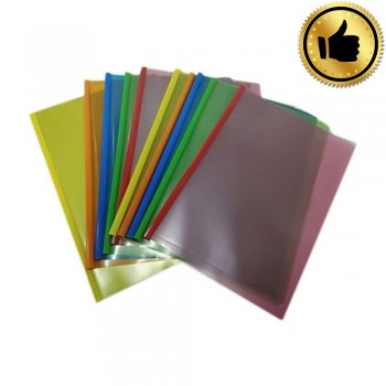 A4 Slide Bar Document Holder 10set/packet - Mix Color (BEST)