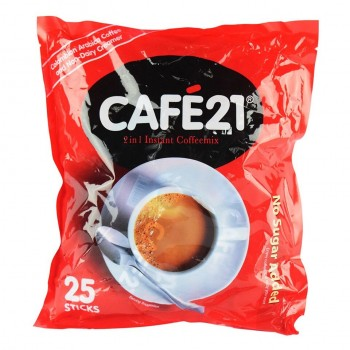 CAFE21 2 in1 Instant Coffeemix - 25Sticks