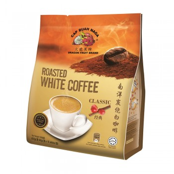 Dragon Fruit Brand - Roasted White Coffee Classic 40g x 15 sticks
