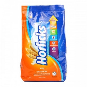 Horlicks Nutritious Malted Drink Original 400g (Item No: E03-04) A2R1B109