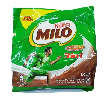 Milo 3-in-1 Activ-Go 33g x 18stick packs (Item No: E03-20)