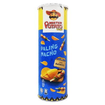 Mister Potato Barbecue Potato Chip 160g