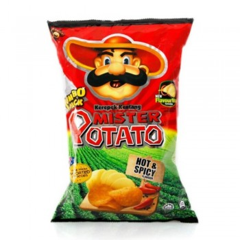 Mister Potato Chips Hot and Spicy (Item No: E05-17) A2R1B66