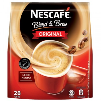 NESCAFE BLEND & BREW 3in1 ORIGIONAL 28'S