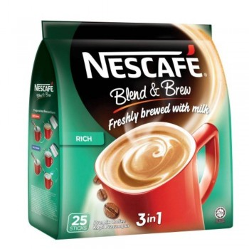 Nescafe 3in1 Blend & Brew Rich (Item No: E01-23) A2R1B15