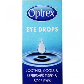 Optrex Eye Drops 10ml - Soothes,Cools/Refreshes Tired/Sore Eyes (Item No: E07-25) A3R1B133