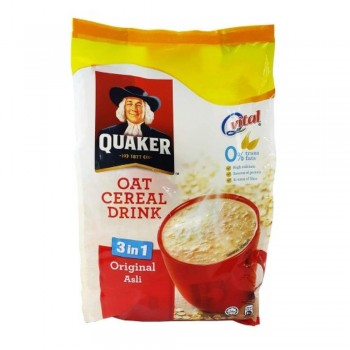 Quaker - OAT Cereal Drink 3in1 Original Asli 476g (Item No: E03-17) A2R1B92