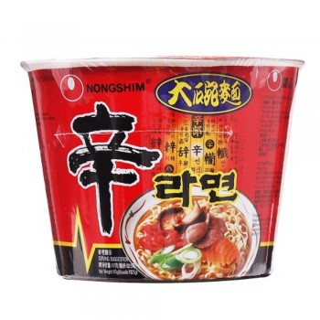 Shin Ramyun Mee Big Bowl - Spicy Mushroom (Item No: E06-25) A2R1B79