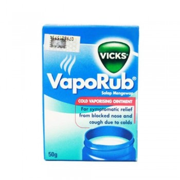 VapoRub Vicks 50G (Item No: E07-07) A3R1B131