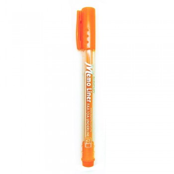 Buncho Memo Liner Highlighter-Orange